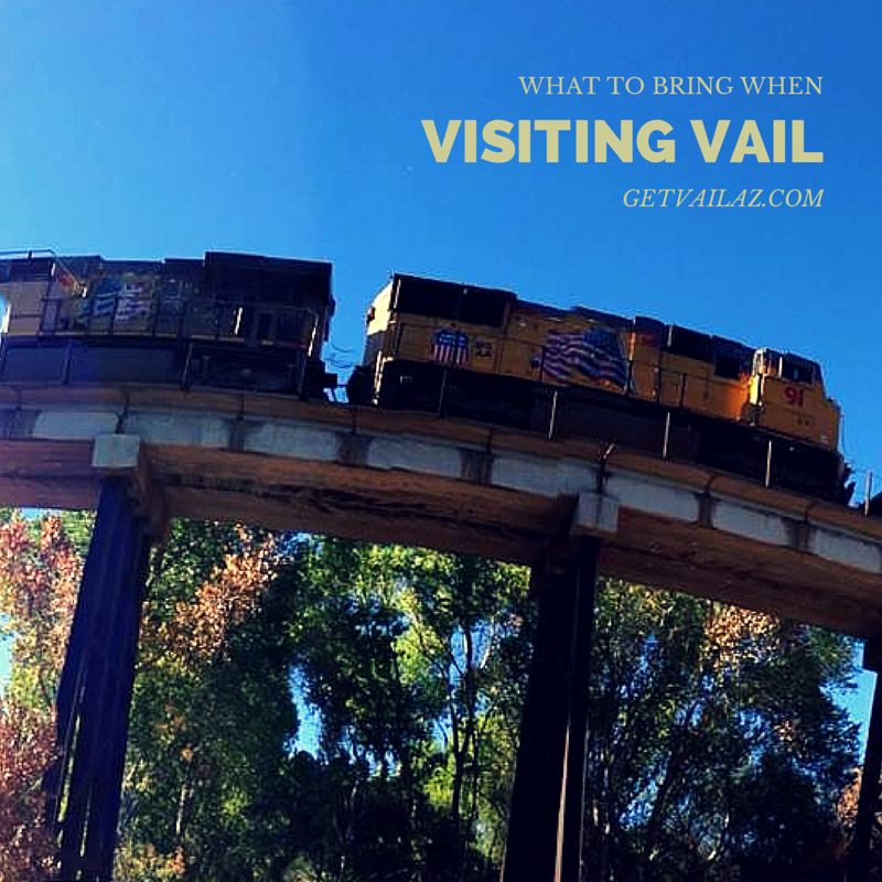 What to Bring When You Visit Vail Arizona - The Vail Voice