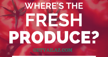 buy produce in Vail