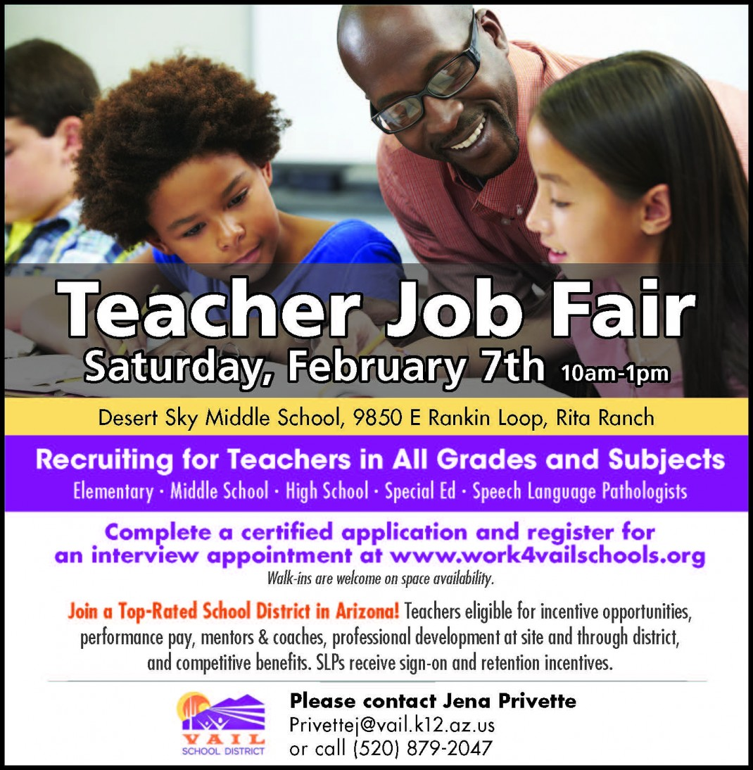 vail school district teacher job fair what to know before you go