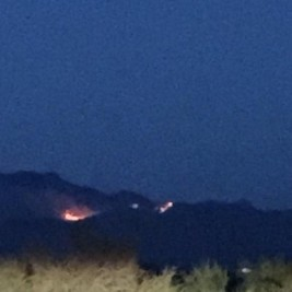 Fire on Mt. Fagan