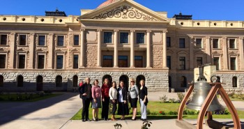 24 Vail Parent Network at the capital 26 January, meeting with legislators to fight for our kids and our teachers!