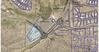 36 Colossal Cave Road Realignment and Roundabouts Layout