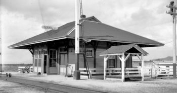 28 B Vail Depot 1901. Union Pacific Archives